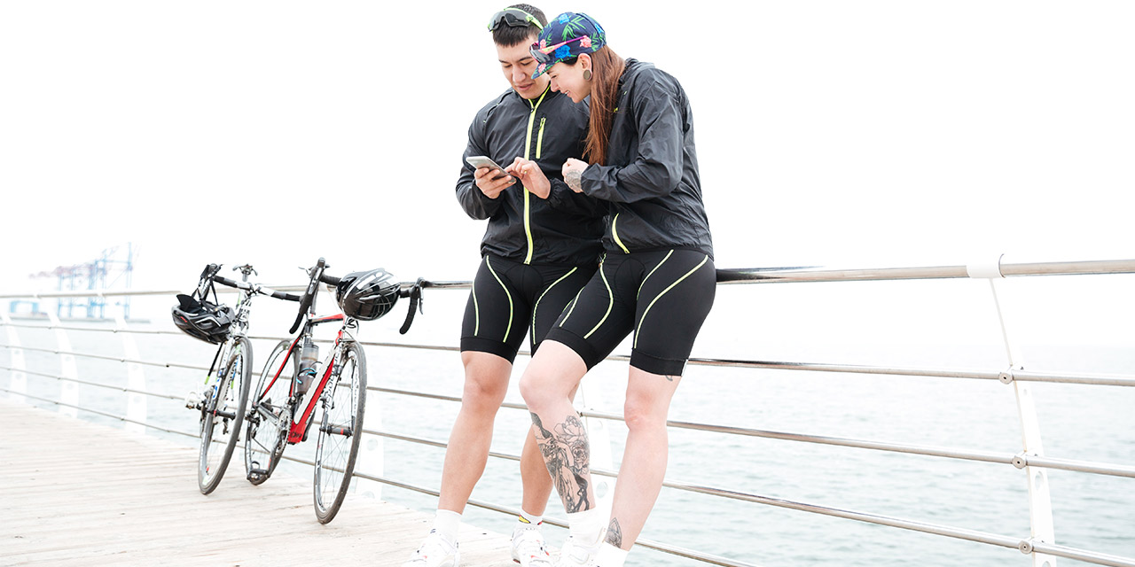 Ant+ couple bike phone