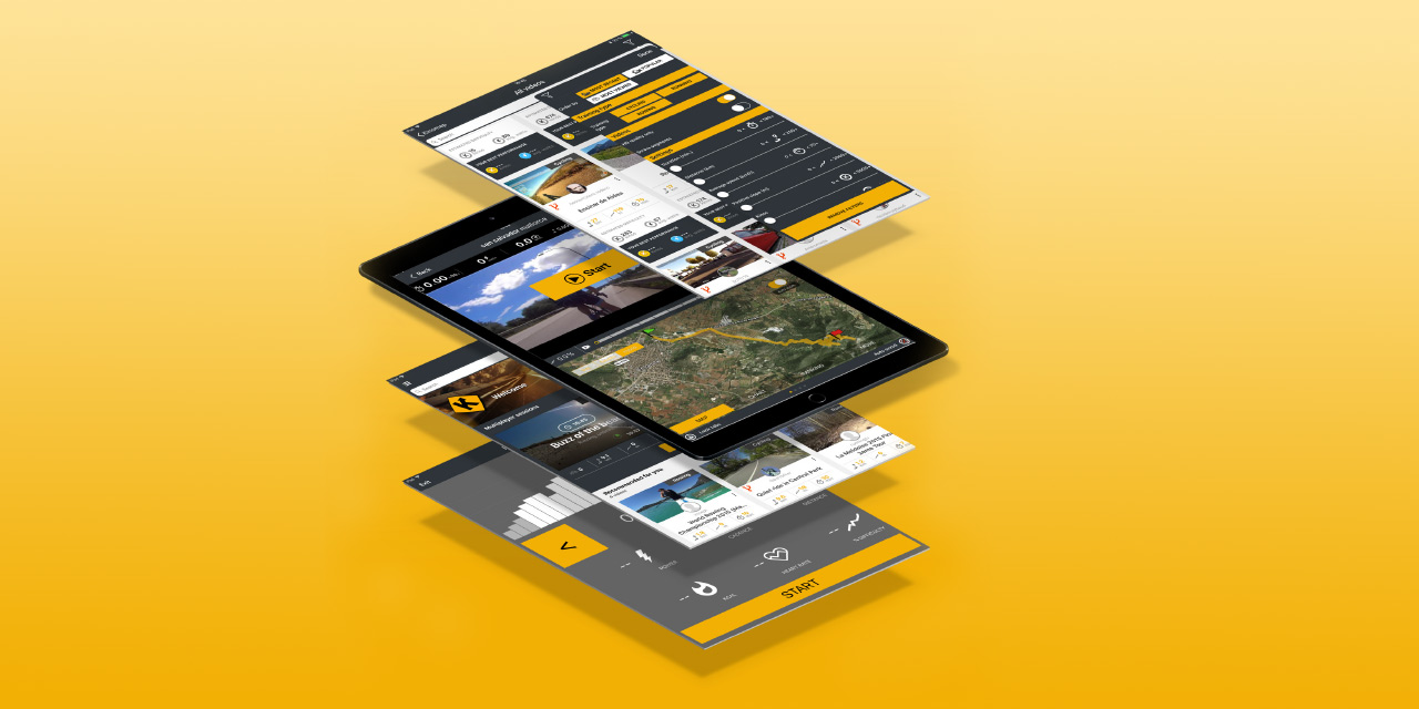 kinomap app system