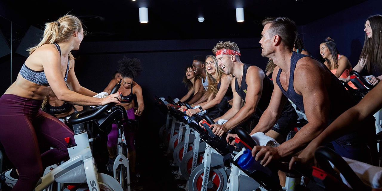 boom cycle indoor cycling class