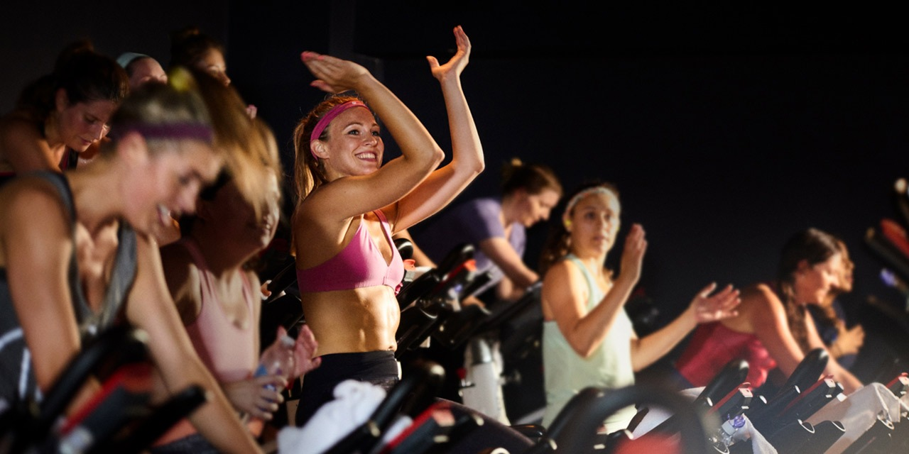Boom indoor cycling instructor class