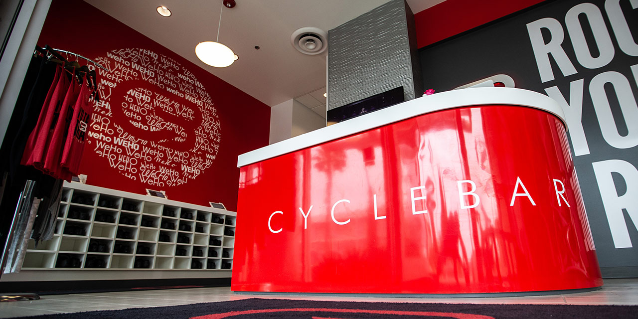 cyclebar entrance