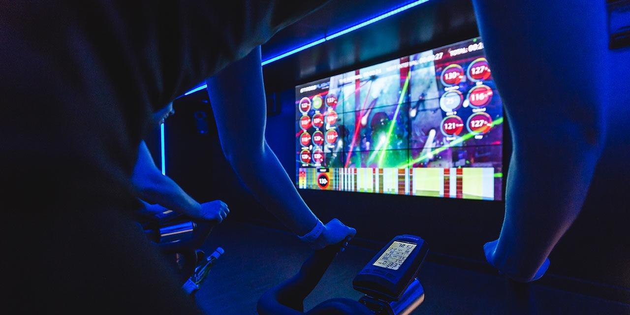 david lloyd derby club new indoor cycling concept rythm