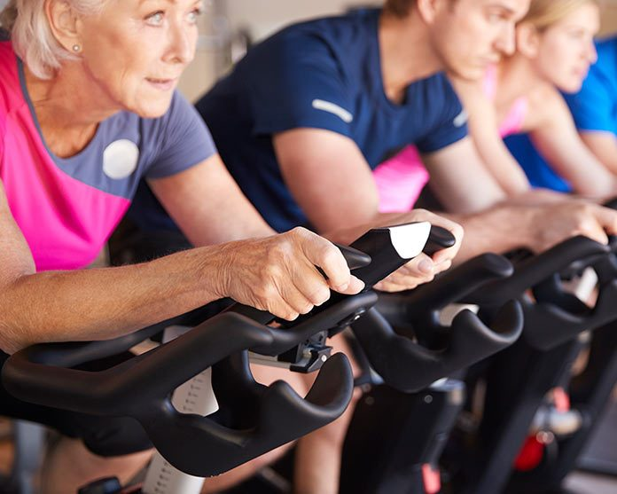 improve health of cells by indoor cycling