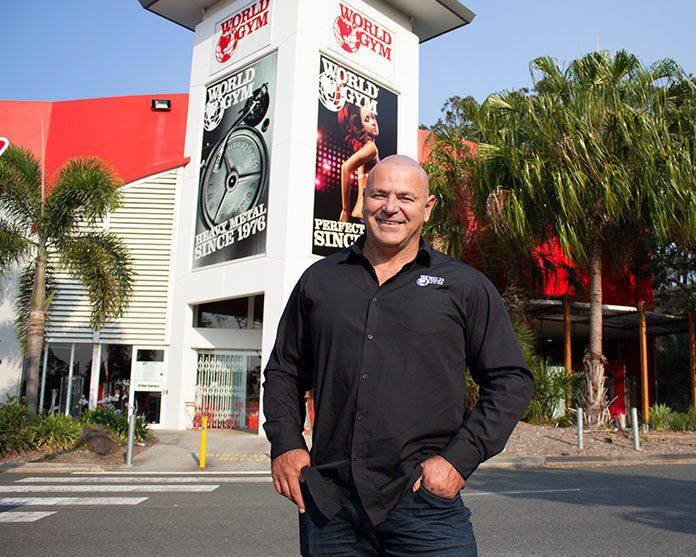 jon davie world gym australia franchiser